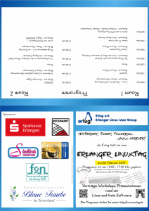 Linuxtag 2015 Flyer